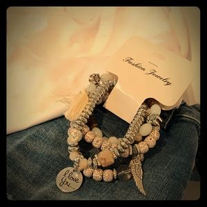 Jewelry - Bohemian 4pcs Bracelet Set
